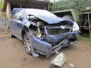 Оценка остаточной стоимости разбитого в ДТП автомобиля