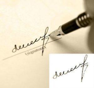 Судебная экспертиза подписи