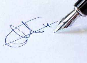 экспертиза почерка подписи договора или расписки