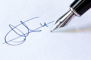 Судебная экспертиза почерка